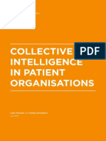 Collective Intelligence in Patient Organisations