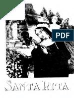 Santa Rita de Cascia - Mons. Luis de Marchi