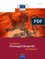 European Enterprise Promotion Awards Compendium 2015 in Swedish