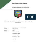 Artículo Epidemiología P. Cubensis