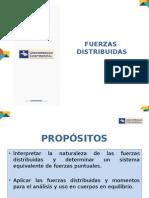 - Fuerzas Distribuidas  Mecánica Vectorial
