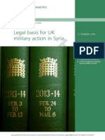 UK HOC Library Syria Briefing Paper