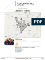 Neighborhood Real Estate Report for Gardner, Kansas