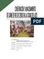Proyecto de Almacenamiento de Carne