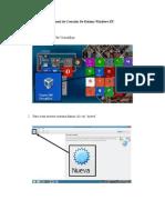 Manual de Creación de Sistema Windows XP