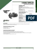 Catalogo Bombas DAB K