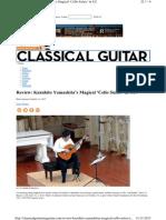 Review- Kazuhito Yamashitas Magical Cello Suites in S.F.