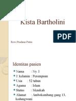 Presus Kompre Kista Bartholini