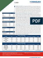 MANSUKH-Market Insights(31st March,2010)