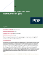 World price of gold
