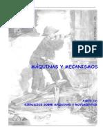 Maquinas y Mecanismos Ejercicios