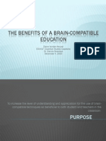 edu417 wk5 final the benefits of a brain-compatible education