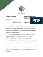 bike accident j352 news release