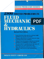 2500 Solved Problems in Fluid Mechanics Hydraulics