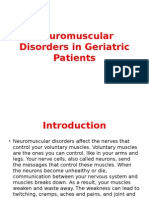 Neuromuscular Disorders in Geriatric Patients