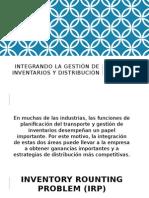 Integrando La Gestión de Inventarios y Distribución