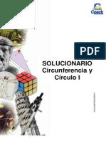 Sol. Guia G-9 Circunferencia y Circulo I