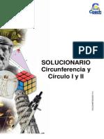 Sol. Guia G-11 Circunferencia y Circulo I y II