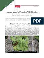 Geranium Wilt