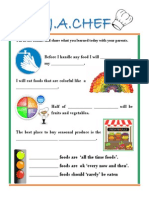 ja lesson plan with flyer