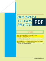 DOCTRINA Y CASOS PRÁCTICOS