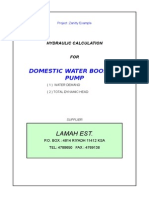 127353816 Domestic Water Booster Pump Calculations