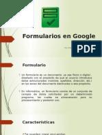 Formularios en Google