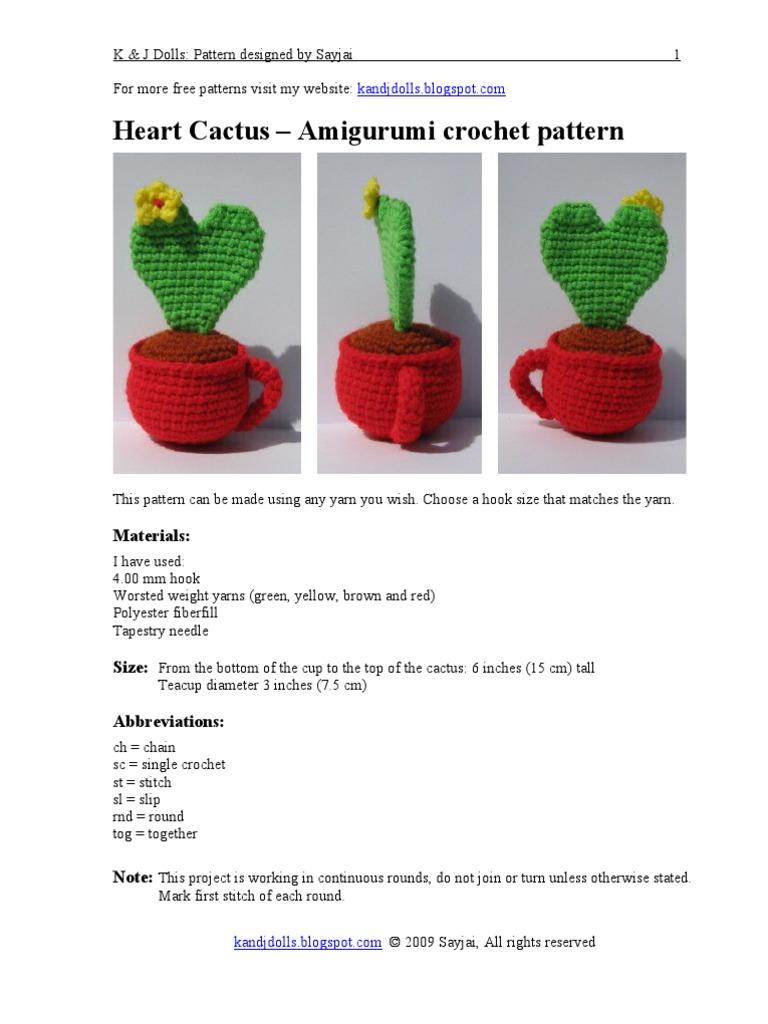 10 Free Crochet Cactus Patterns • Oombawka Design Crochet | 1024x768