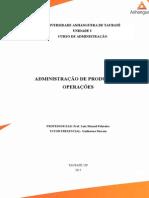 Atps de Administração Da Produção e Operações - Envio