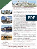 Pilgrimage to Hungary, Austria, Czech Republic   Canterbury Pilgrimages