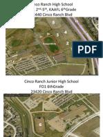 2015 Fall Football Campus Maps