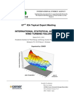 Statistical Analysis on Wind Turbines Failures