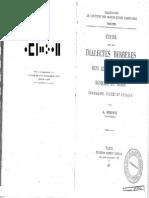 Dialectes Berberes Des Beni Iznassen Du Rif Et Des Senhadja Du Srair a Renisio 1932