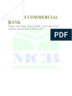 14079306 Muslim Commercial Bank 2009 Report