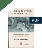 Habermas Teoria de La Accion Comunicativa
