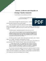 Cuerpo y Monumento El Discurso Auto Biografico de Domingo Faustino Sarmiento