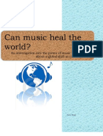 Can Music Heal the World