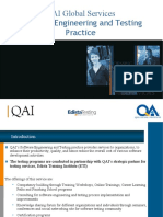 QAI Global Services Software Engineering and Testing Practice Presentation