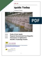Ionic Liquids Today No.18
