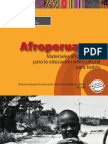 Materiales afroperuanos producidos por el Minedu
