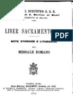 07. Liber Sacramentorum, Santi Dalla Quaresima All'8va Dei Principi Degli Apostoli