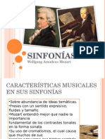 Sinfonias de Mozart