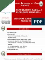 Perforacion Radial en Espesores Menores