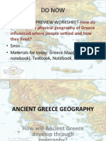 greece geography drexel