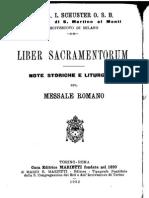 08. Liber Sacramentorum, Dall'Ottava Dei Principi Degli Apostoli Alla Dedicazione Di s. Michele