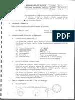 Postes de Concreto - Espec.tecnicas