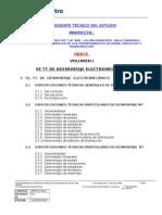 Especificaiones Tecnicas Desmontaje de Obras electromecanicas