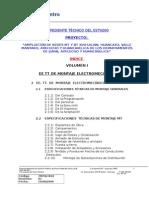 Especificaiones Tecnicas Montaje