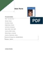 Job Application Form - Al Shaheen111