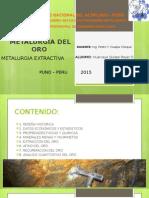 Metalurgia Del Oro Exposicion